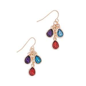 Picture of Jewel Drop Earrings